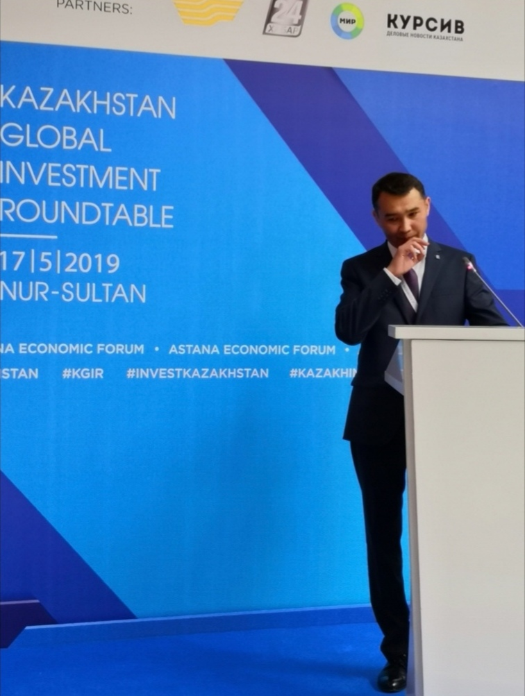 KAZAKH INVEST PROMUOVE LA KAZAKHSTAN GLOBAL INVESTMENT ROUNDTABLE